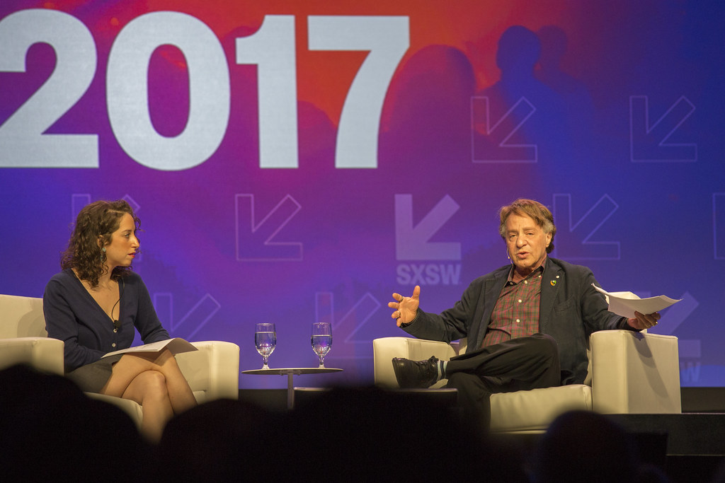 Amy and Ray Kurzweil at SXSW 2017