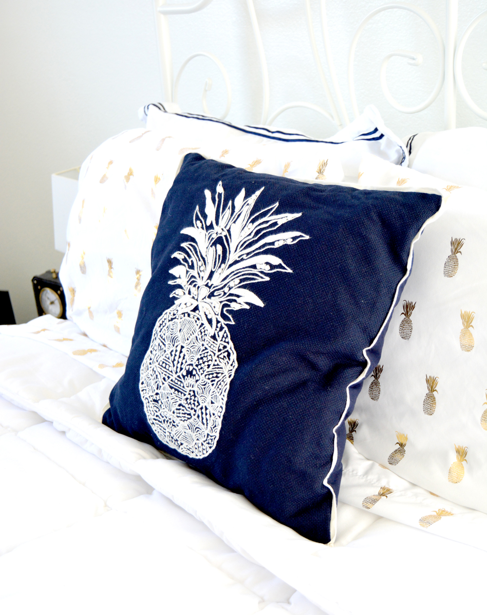 My Navy Blue Bedroom Reveal