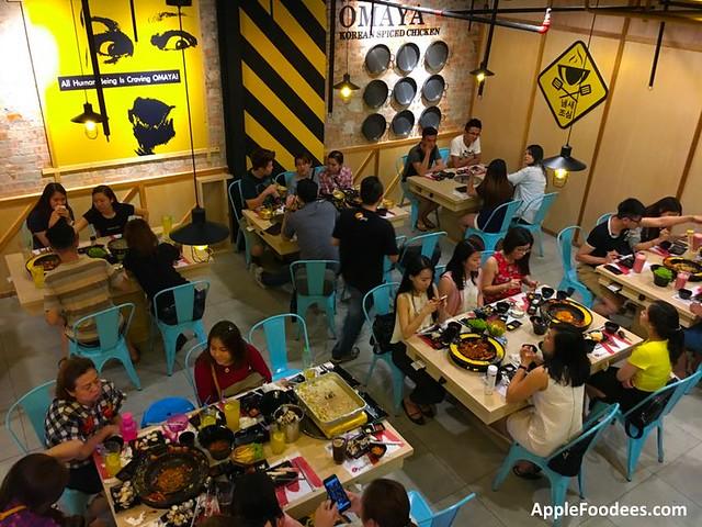 Omaya Malaysia Mont Kiara Restaurant Layout