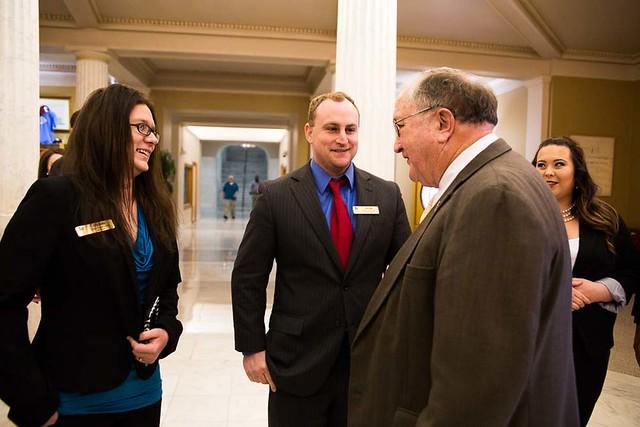 Ozark Campus: CLC visits the Capitol 3-8-17