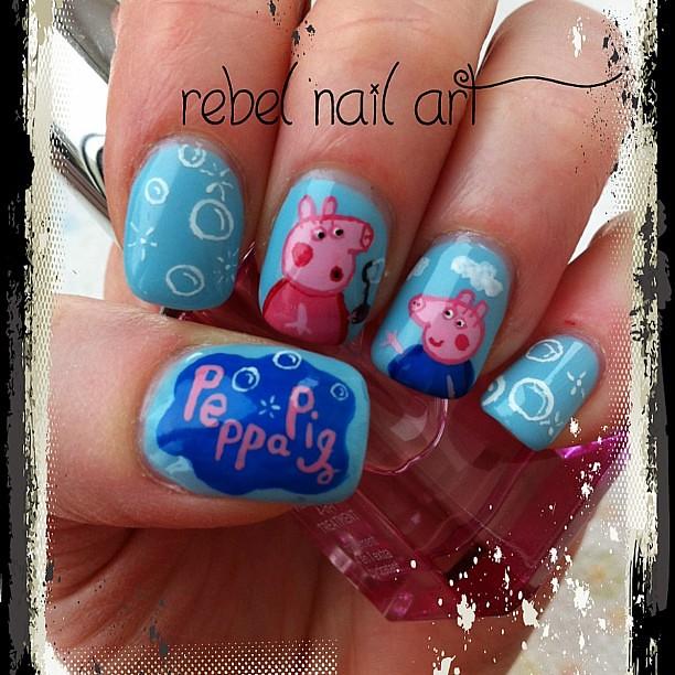 #nails # Peppa pig nails!! These were soooo much fun to paint. #nails # - Peppa Pig Nails!! These Were Soooo Much Fun To Paint. #nai… Flickr