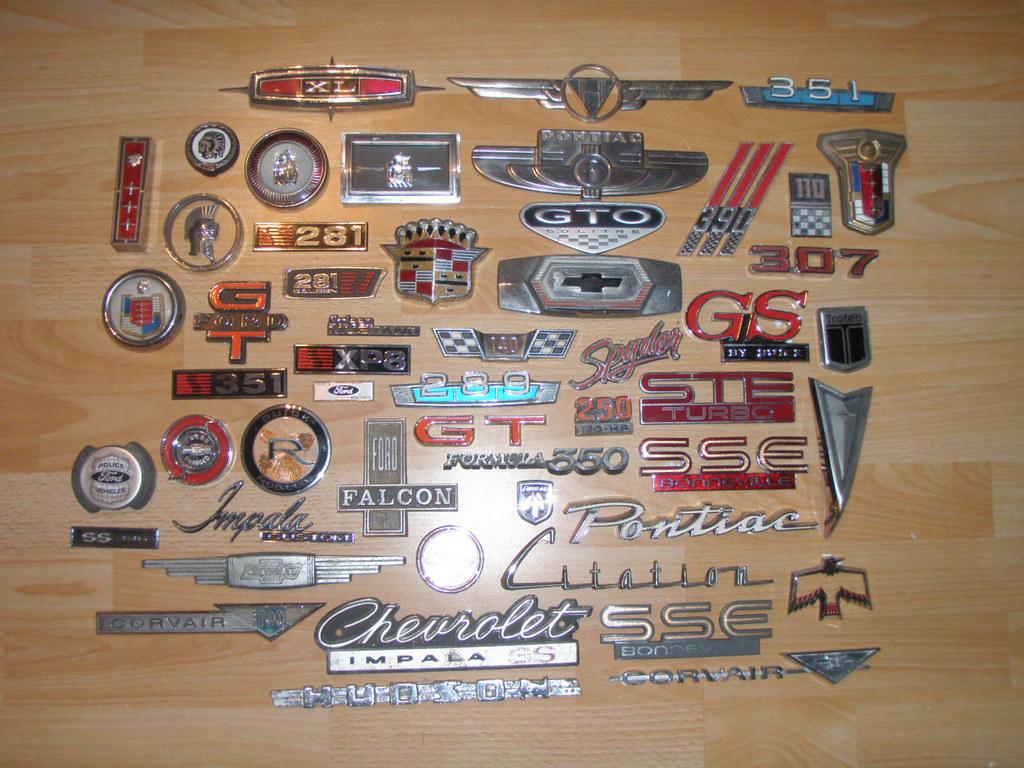 Muscle Car Emblems Anp1011398d More Lenny Wache Flickr