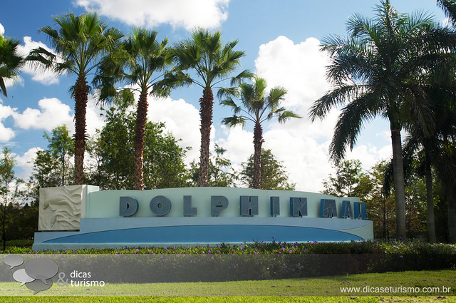 Outlet em Miami - Dolphin Mall
