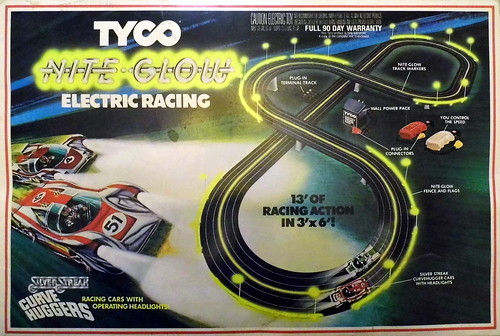 Electric Slot Car Track Sets