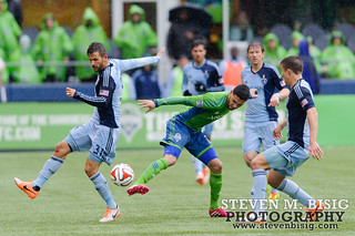 MLS: Sporting KC at Seattle Sounders | by Steven M. Bisig
