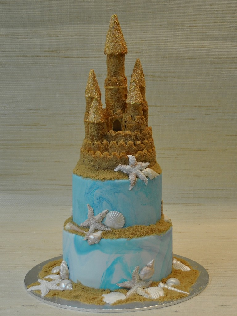 Sand Castle Wedding Cake Thecakezone The Cake Zone Flickr