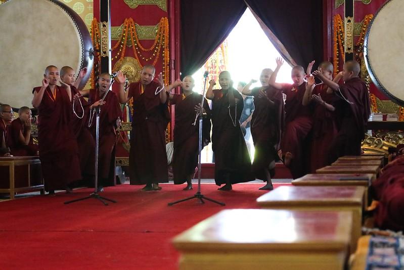 2017.03.06 The Arya Kshema Winter Gathering for Nuns Begins