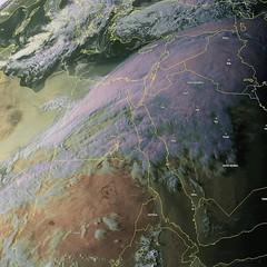 Arabia under Wind-Water Stream
