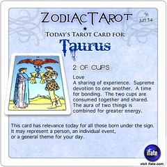 Daily Taurus ZodiacTarot! tarot card for Friday June 14th | Flickr