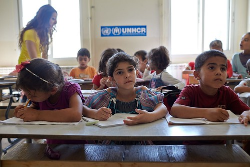The Future of Syria - The Challenge of education | by UNHCR Photo Download