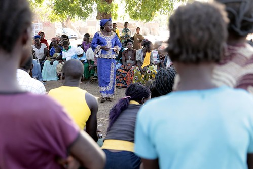 Speaking out: Peer educators advocate for an end to FGM/C | by DFID - UK Department for International Development