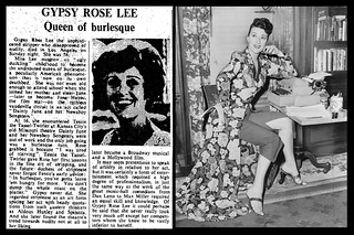 26th April 1970 - Death of Gypsy Rose Lee | by Bradford Timeline