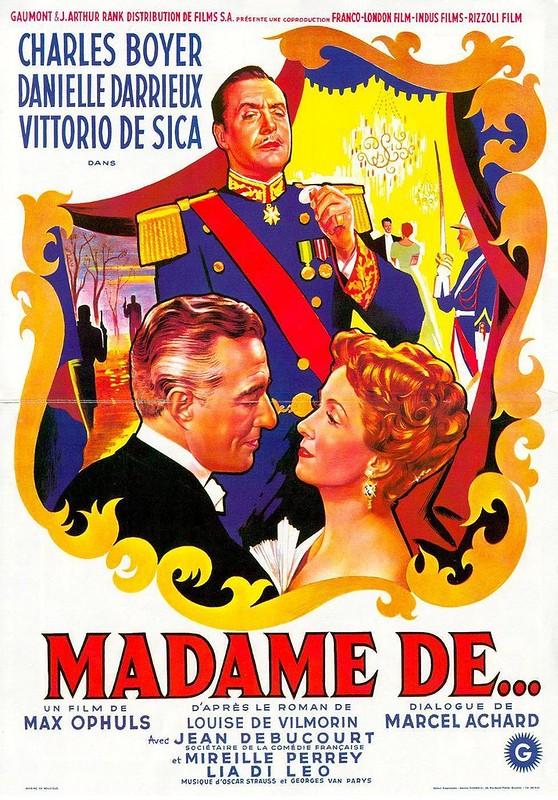 Madame De… - Poster 1