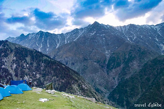 Camping on Triund Hill