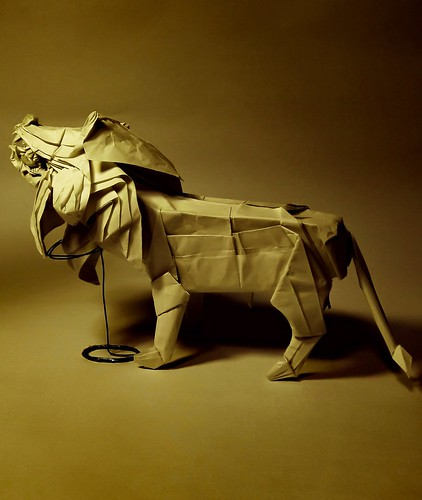 Lion Diagram test-folded by Son Byung Hoon | by green cube