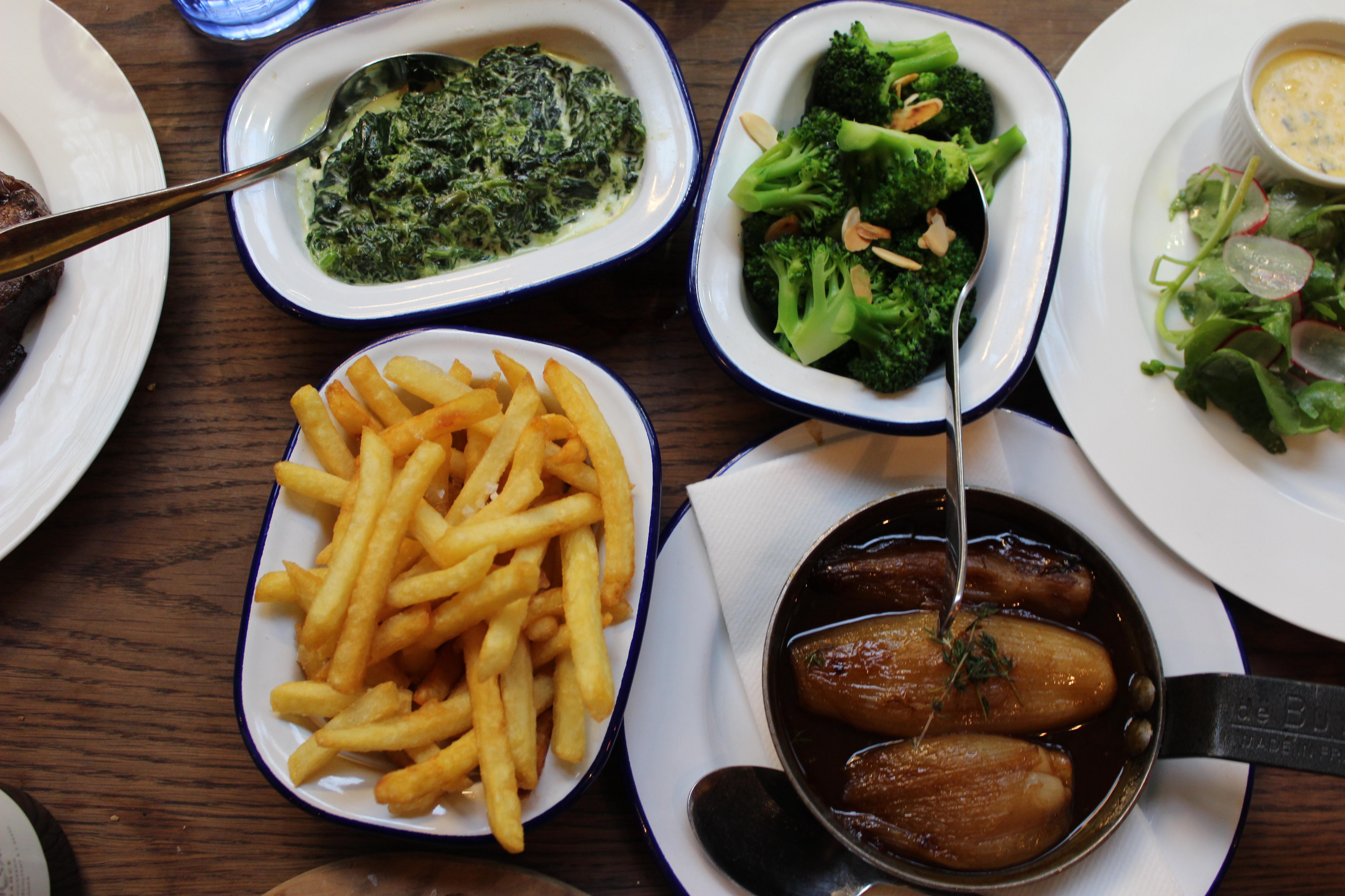 Bordelaise side dishes