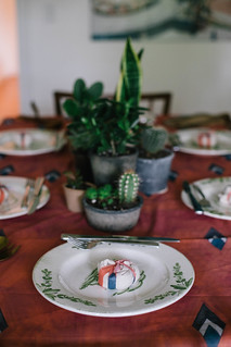 cacti & succulent centerpiece | by Beth Kirby | {local milk}