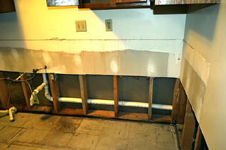 where the kitchen cabinets used to be | by Jo Naylor