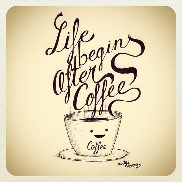 #coffee #life Life Begins After Coffee   Happy Friday!!!!! #coffee #life