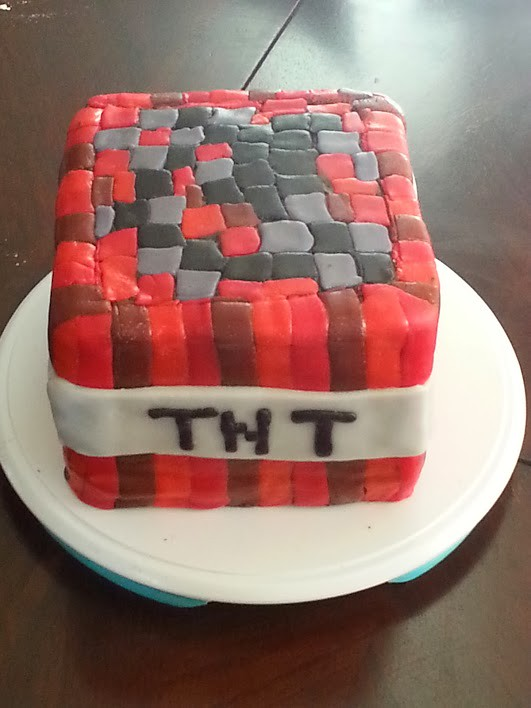 Minecraft Tnt Cake Cassandra W Flickr