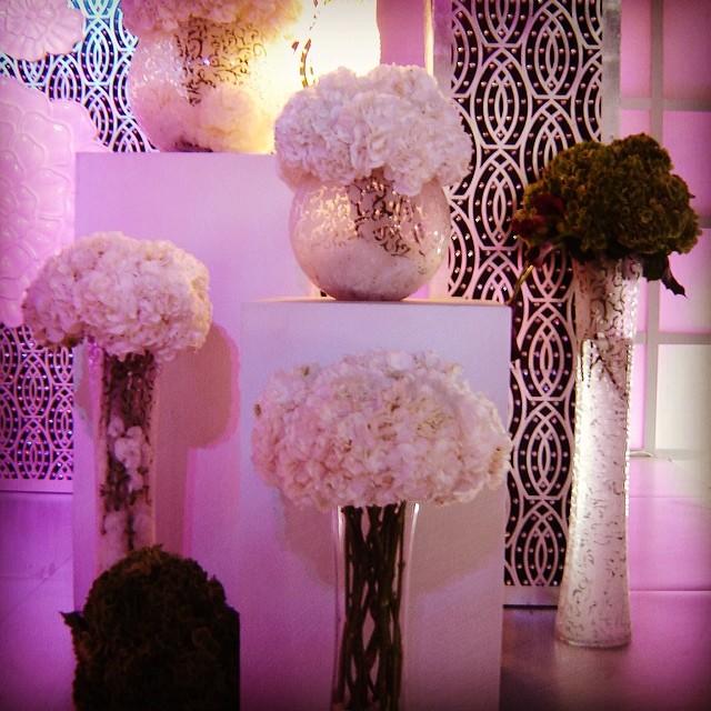 Flower arrangement with vases flowers hydrangea vases flickr flower arrangement with vases flowers hydrangea vases kousha decoration art junglespirit Choice Image