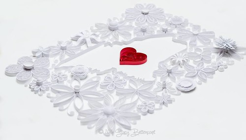 Quilled State of Maine by Mainely Quilling