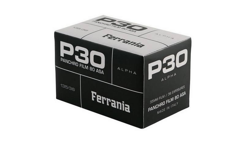 Film Ferrania : La boutique en ligne permet de pré-commander le film P30