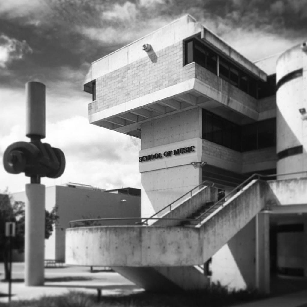 Brutalism. Canberra.