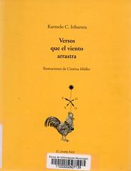 Karmelo C Iribarren, Versos que el viento arrastra