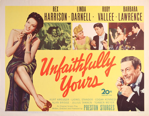 Unfaithfully Yours - 1948 - Poster 3