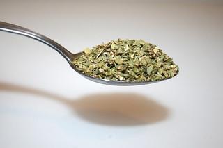 05 - Zutat Oregano / Ingredient oregano