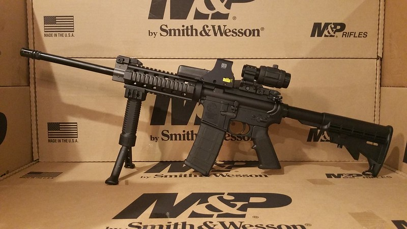 Smith Wesson M&P 15 3x Vector Magnifier Eotech 512