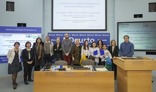 27/03/2017 - I Jornadas de Impacto Social de la Investigación de Deusto - Donostia