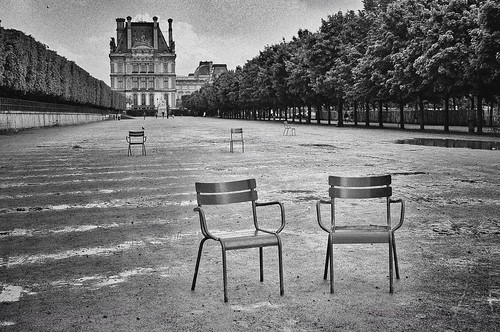 Les chaises du jardin des tuileries les chics types face flickr - Chaise de jardin solide ...