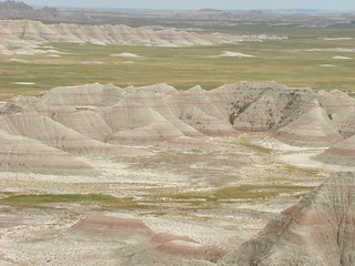 13 Big badlands overlook