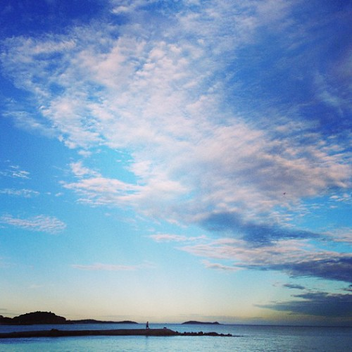 Beautiful #Ibiza skies in Santa Eulalia | by Ibiza Inside