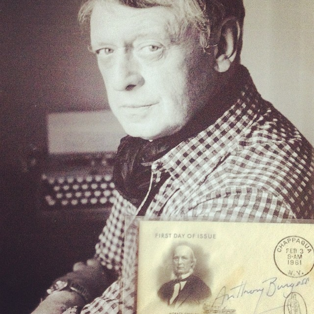 Anthony Burgess autograph #autógrafo #autograph #escritor #author #writer #anthonyburgess #manchester #clockworkorange #british