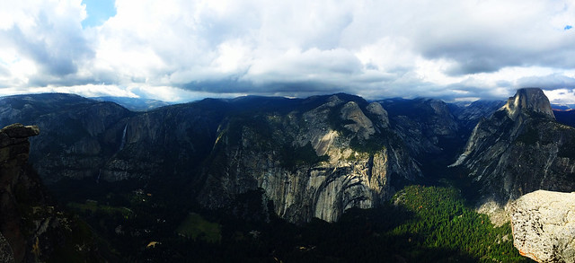 Glacier Point, Yosemite National Park, CA, USA