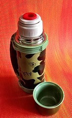 Audacious Rhino 800ml Camouflage Flask