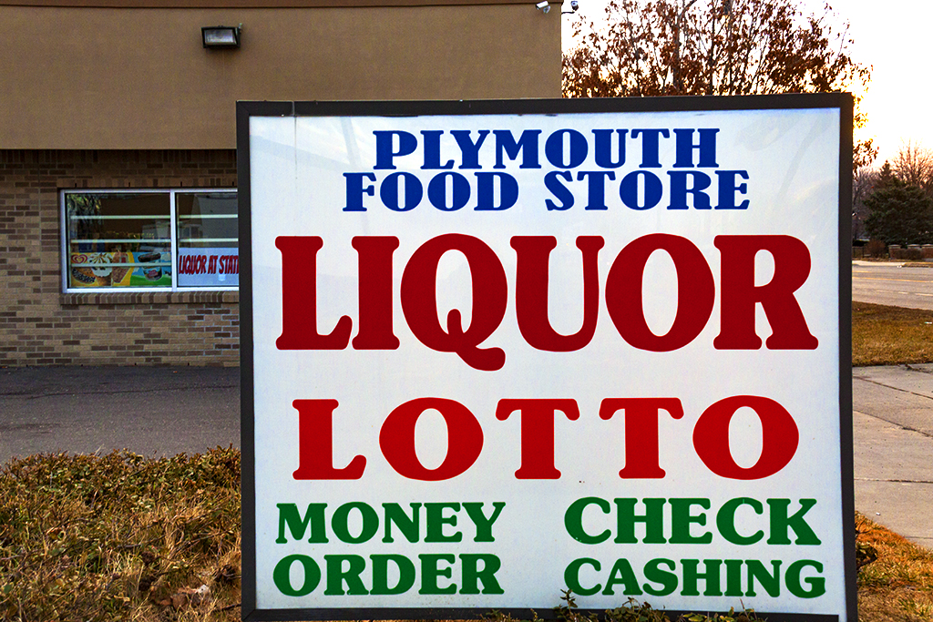LIQUOR LOTTO MONEY ORDER CHECK CASHING--Livonia