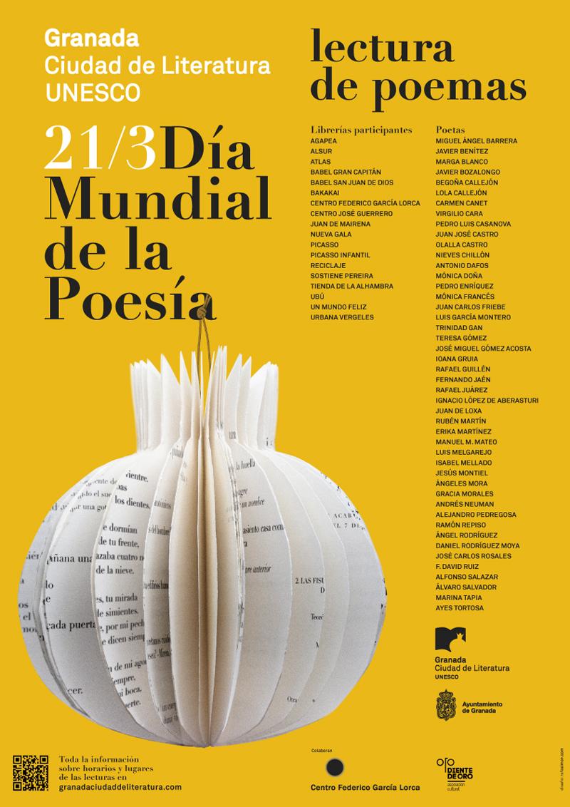 Día Mundial de la Poesía - Granada