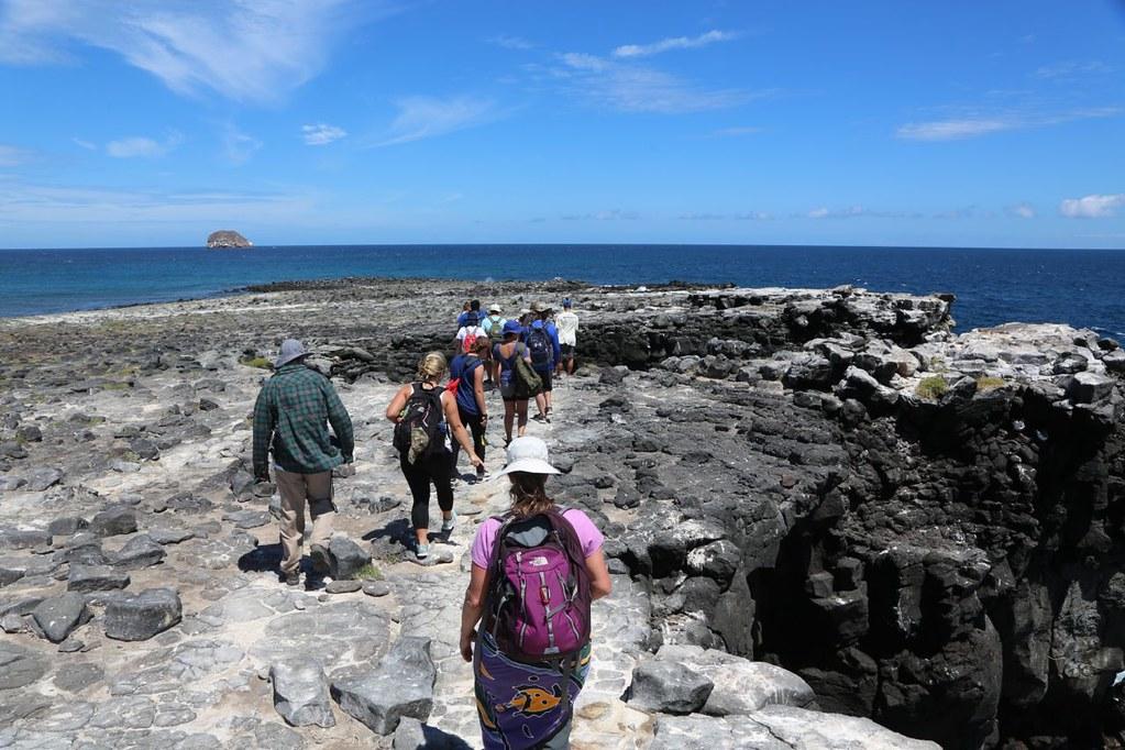 Hofstra in Galapagos