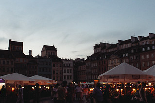 Old Town Market Square at dusk | by Ashlae | oh, ladycakes