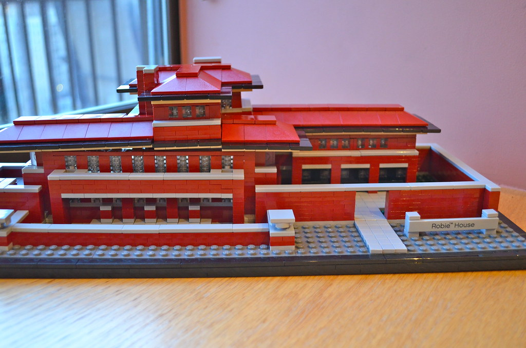 robie house - lego | lego architecture. robie house. frank l… | flickr