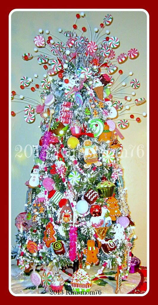 candyland themed christmas tree by kimsmom76susan