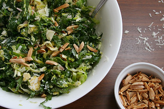 brussels sprouts kale salad 4 | by crumblycookie