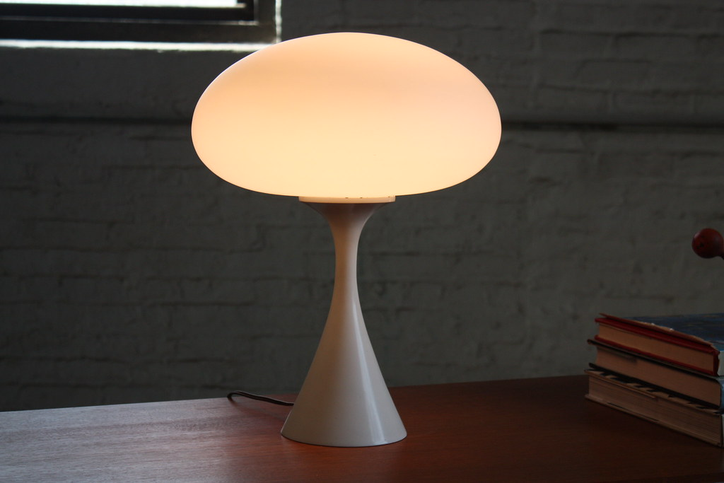 Lusty laurel mid century modern mushroom table lamp usa flickr lusty laurel mid century modern mushroom table lamp usa 1960s by kennyk aloadofball Image collections
