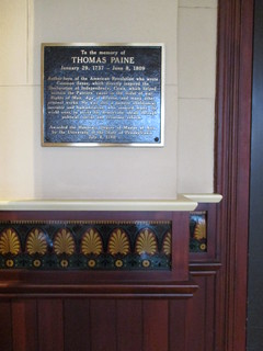 Thomas Paine plaque | by tehshadowbat