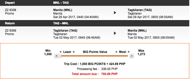Final Call Sale Tagbilaran May 2017