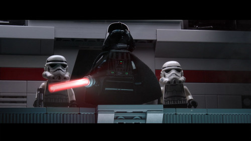 Rogue One ending scene in Lego finished!
